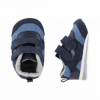 Carter's Chambray Sneaker Baby Shoes