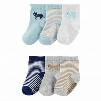 Carter's 6PK Animal Socks