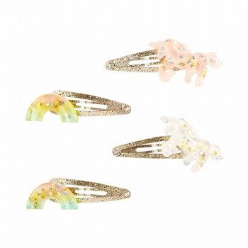 Carter's 4PK Unicorn & Rainbow Hair Clips