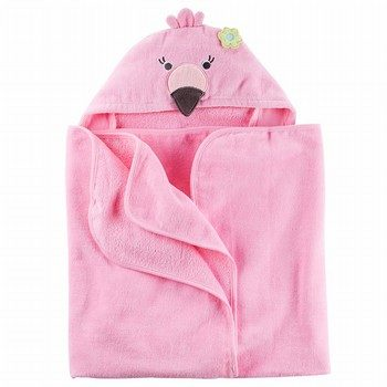 Carter's Flamingo Hooded Towel
