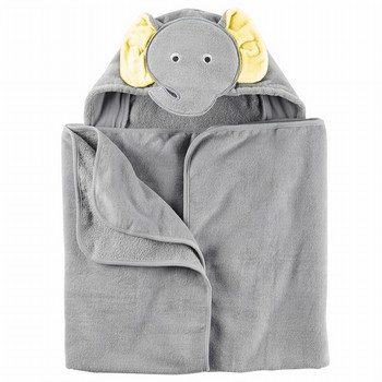 Carter's Elephant Hooded Towel