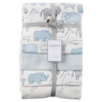 Carter's 4PK Receiving Blanket