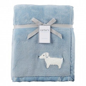 Carter's Dog Plush Blanket