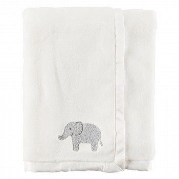 Carter's Elephant Plush Blanket