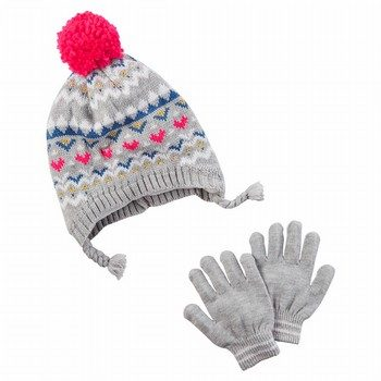 Carter's Hat & Glove Set