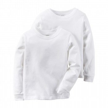 Carter's 2PK Cotton L/S Undershirts