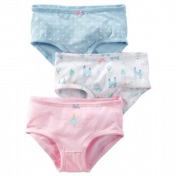 Carter's 3PK Princess Underwear