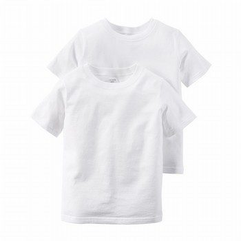 Carter's 2PK Cotton S/S Undershirts