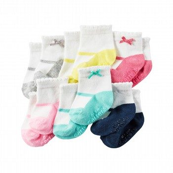 Carter's 6PK Mary-Jane Socks