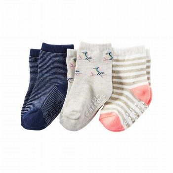 Carter's 3PK Print Socks