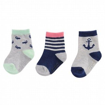 Carter's Nautical Crew Socks