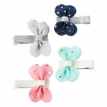 Carter's 4PK Butterfly Hair Clips