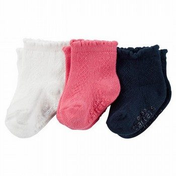 Carter's 3PK Pointelle Socks