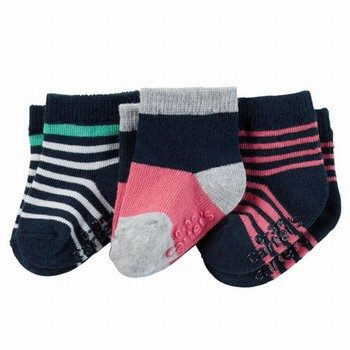 Carter's 3PK Striped Socks