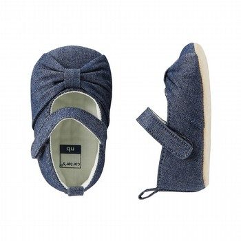 OshKosh Chambray Bow Mary Jane