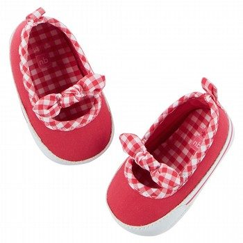 Carter's Gingham Bow Mary Jane