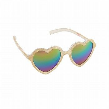 OshKosh Glitter Heart Sunglasses