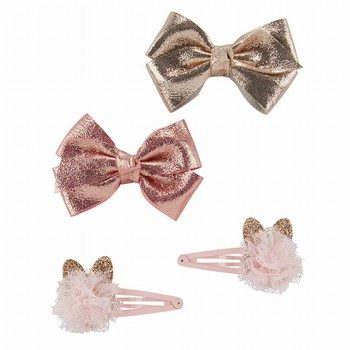 OshKosh B'gosh 4PK Metallic Hair Clips
