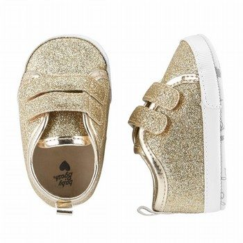 OshKosh B'gosh Glitter Sneaker Crib Shoes