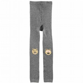 OshKosh B'gosh Cat Emoji Footless Tights