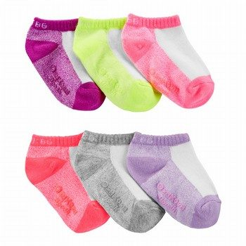 OshKosh B'gosh 6PK Ankle Socks