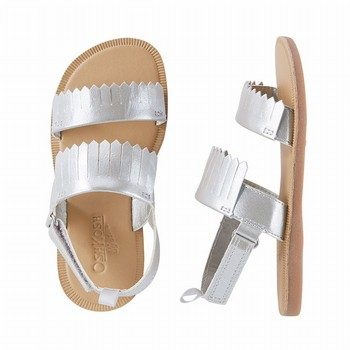 OshKosh B'gosh Metallic Frill Sandals