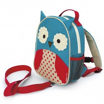 Skip Hop Zoo Owl Harness Backpack
