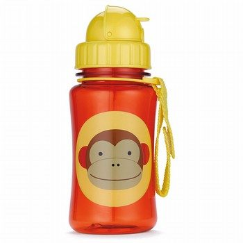 Skip Hop Zoo Monkey Straw Bottle