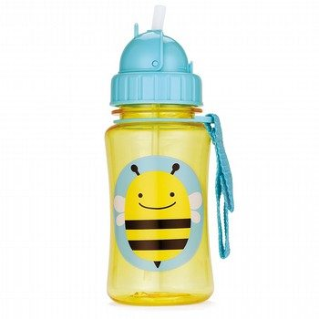 Skip Hop Zoo Bee Straw Bottle