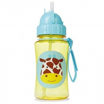 Skip Hop Zoo Giraffe Straw Bottle