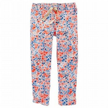 OshKosh B'gosh Floral Drawstring Jegging