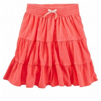 OshKosh B'gosh Tiered Neon Maxi Skirt