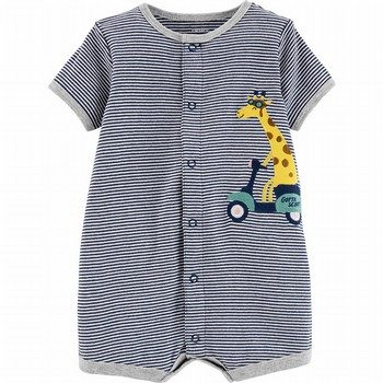Carter's Giraffe Snap-Up Romper