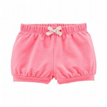 Carter's Neon Pull-On French Terry Bubble Shorts