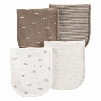 Carter's 4PK Elephant Burp Cloths