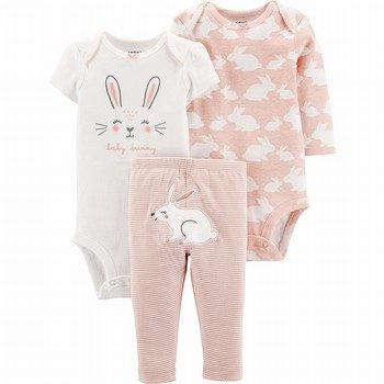 Carter's 3PC Bunny Little Character Set