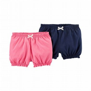 Carter's 2PK Pull-On Bubble Shorts