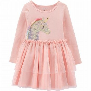 Carter's Sequin Unicorn Tutu Dress