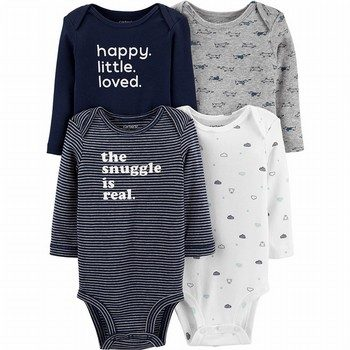 4-Pack Bodysuits
