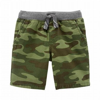 Carter's Camo Easy Pull-On Dock Shorts