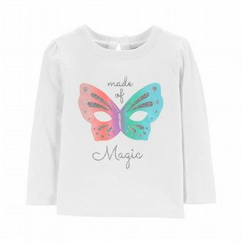 Carter's Glitter Magic Bow Top