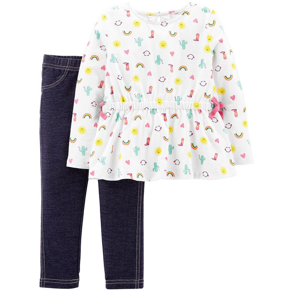 Carters Rainbow Jeggings