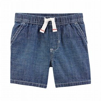 Carter's East Pull-On Chambray Shorts