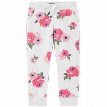 OshKosh B'gosh Floral Fleece Pants