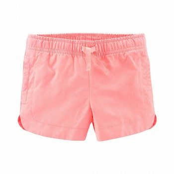 Carter's Easy Pull-On Twill Shorts