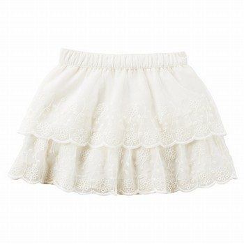 Carter's Lace Tiered Skirt