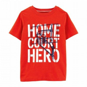 Carter's Home Court Basketball Slub Jersey Tee
