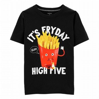 Carter's It's FryDay Jersey Tee