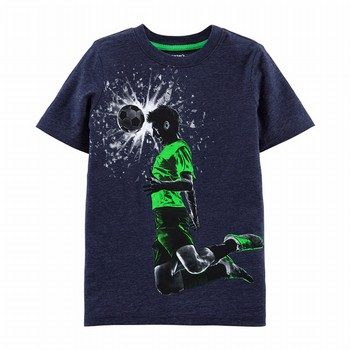 Carter's Soccer Snow Yarn Tee