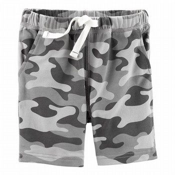 Carter's Camo Pull-On French Terry Shorts